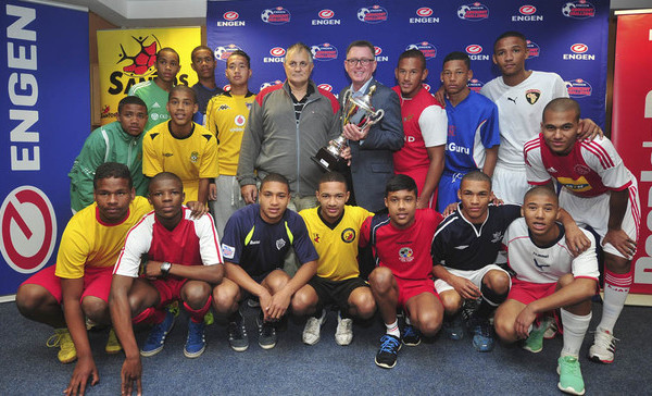 Football - 2014 Engen Knockout - Cape Town Launch - Athlone Stadium - Cape Town